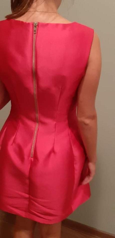 Krátke ružové šaty - Obrázok č. 2