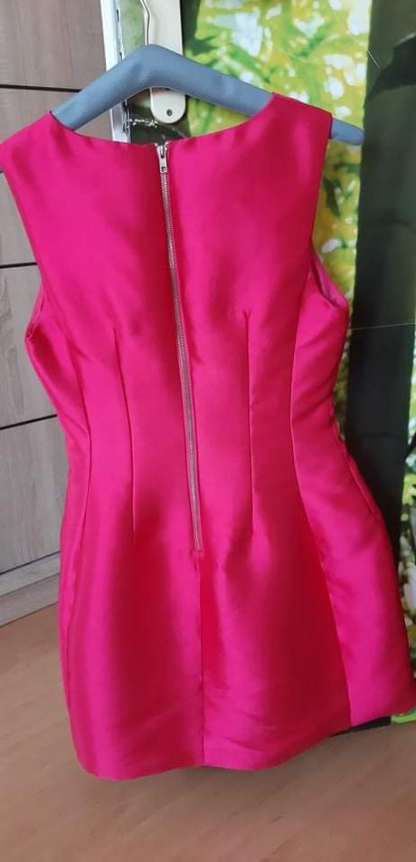 Krátke ružové šaty - Obrázok č. 3