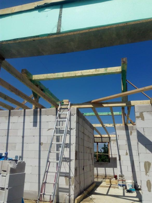 Naše nové bývanie - začíname s krovom
