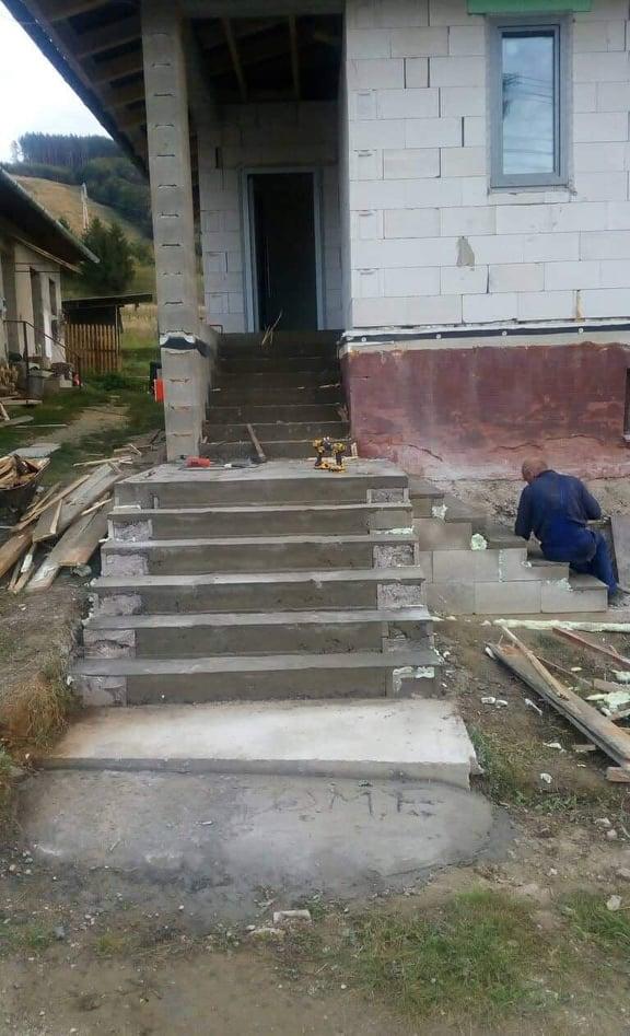 Naše nové bývanie - schody hotové :)