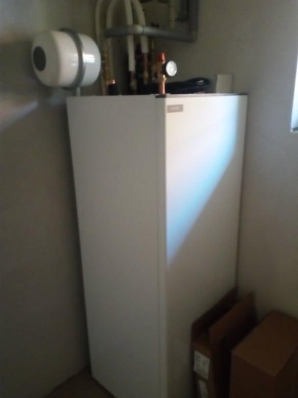 Naše nové bývanie - kotol k čerpadlu :)