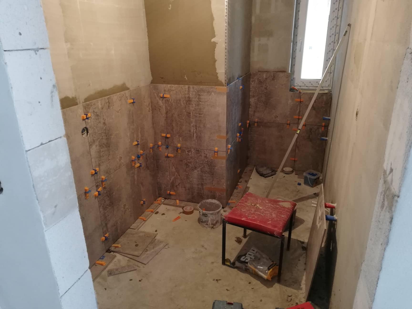 Naše nové bývanie - kúpeľne