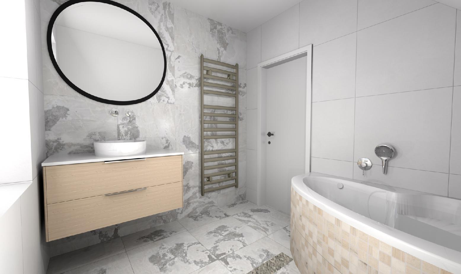 Koupelna - Vizualizace koupelny