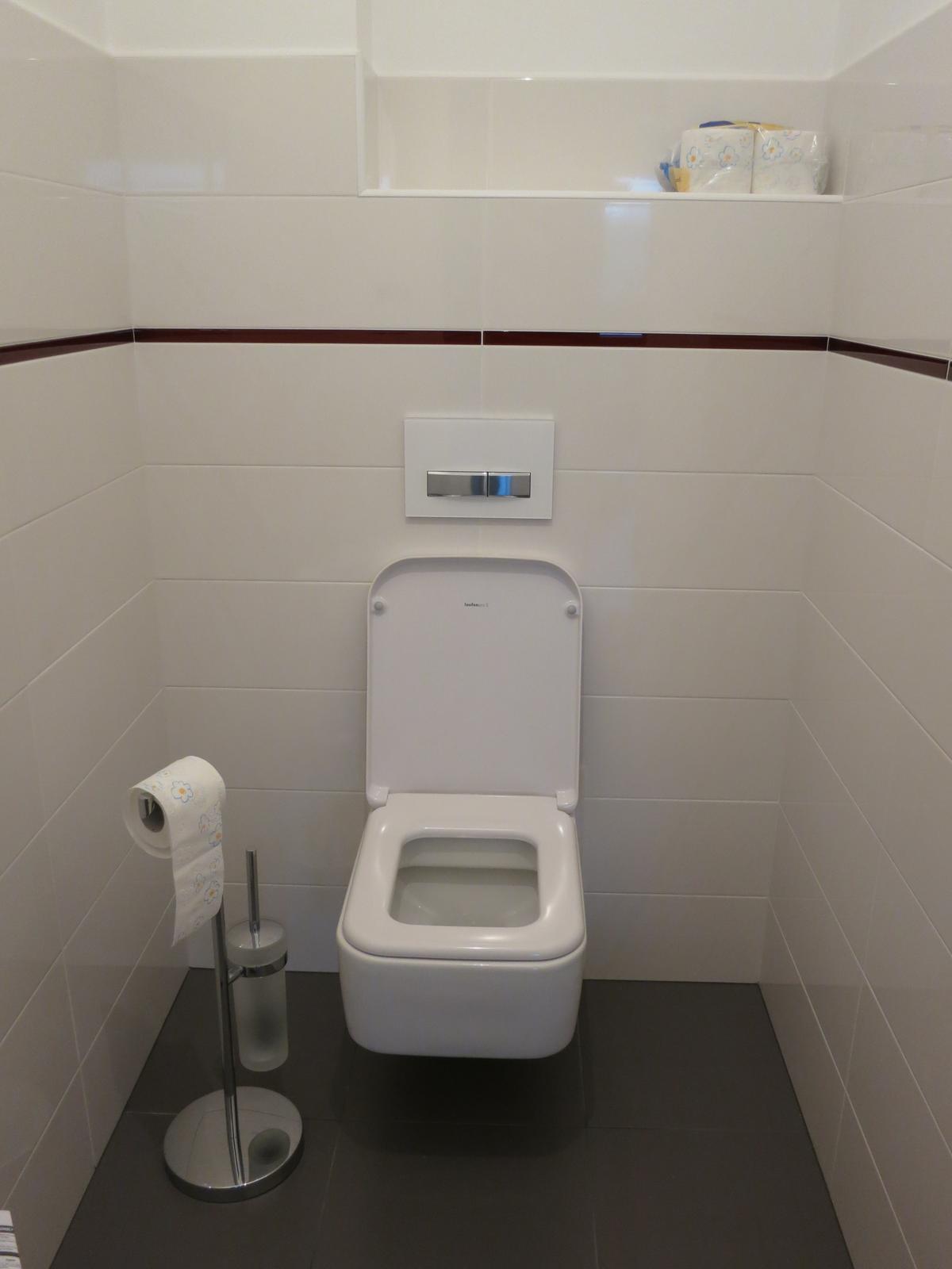 Koupelna - Obklad Paradyź Yoshioka, dlažba Purio, WC - Laufen Pro S