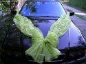 takto budeme mít ozdobeno auto ženicha