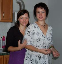 Blaňuša a Blanka - mé dvě velké pomocnice   :-))