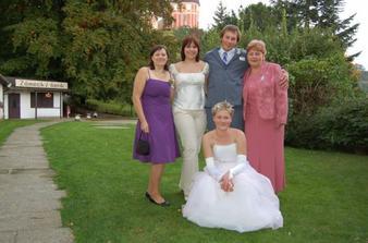 Ještě foto s rodinou........
