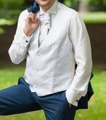 SARAR vesta, kravata, obrúsok, 52