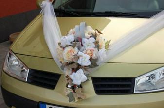 toto je úplně skvělé..tak by mělo dopadnout auto nevěsty :-)