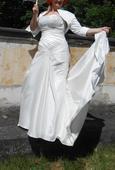 Zeštíhlující šaty-mořská panna 42-46, 42