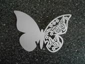 Svatební jmenovky motýlci bílí,
