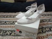 Pohodlné kožené boty pro nevěstu, 41