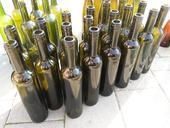 Fľaše sklenené,