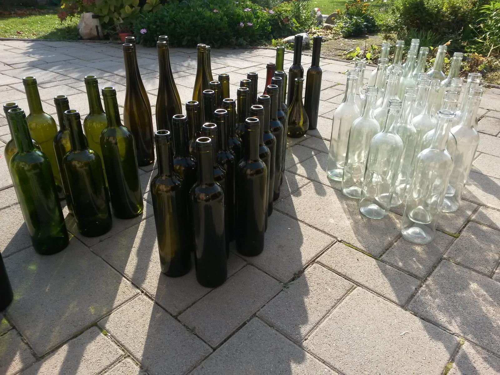 Fľaše sklenené - Obrázok č. 2