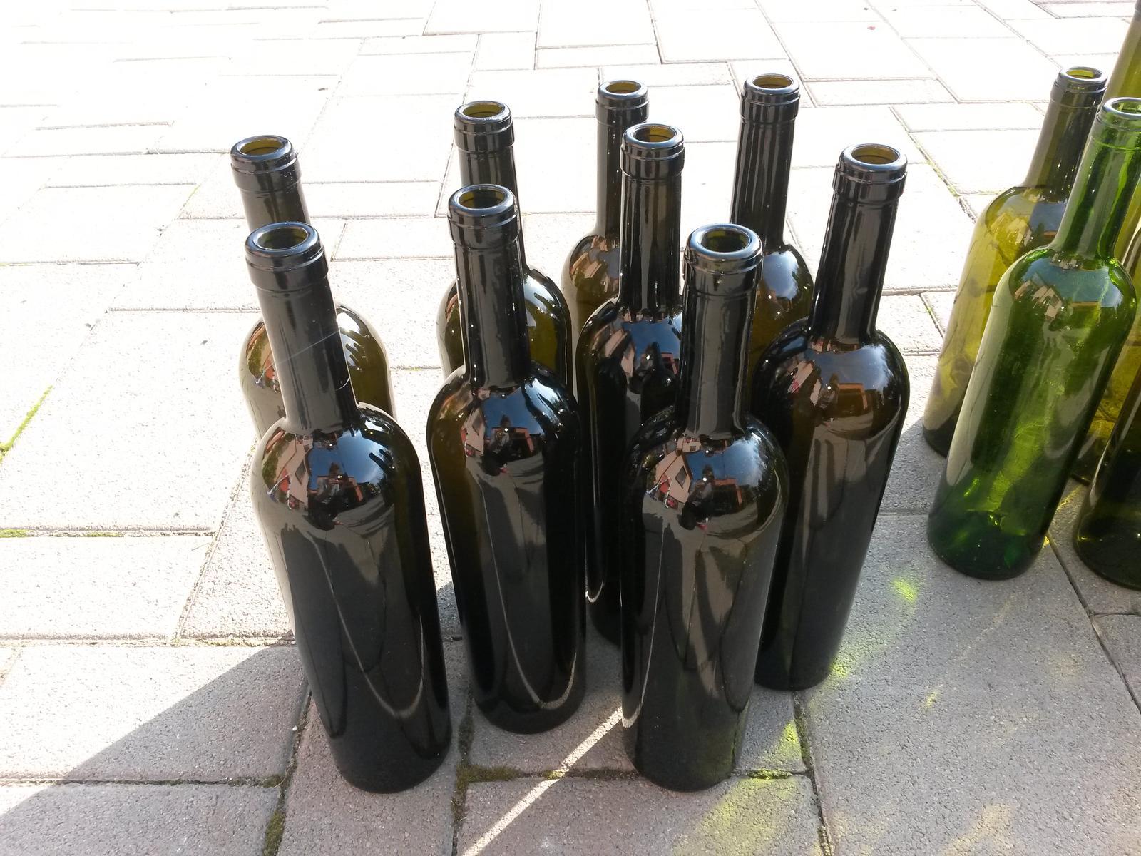 Fľaše sklenené - Obrázok č. 3