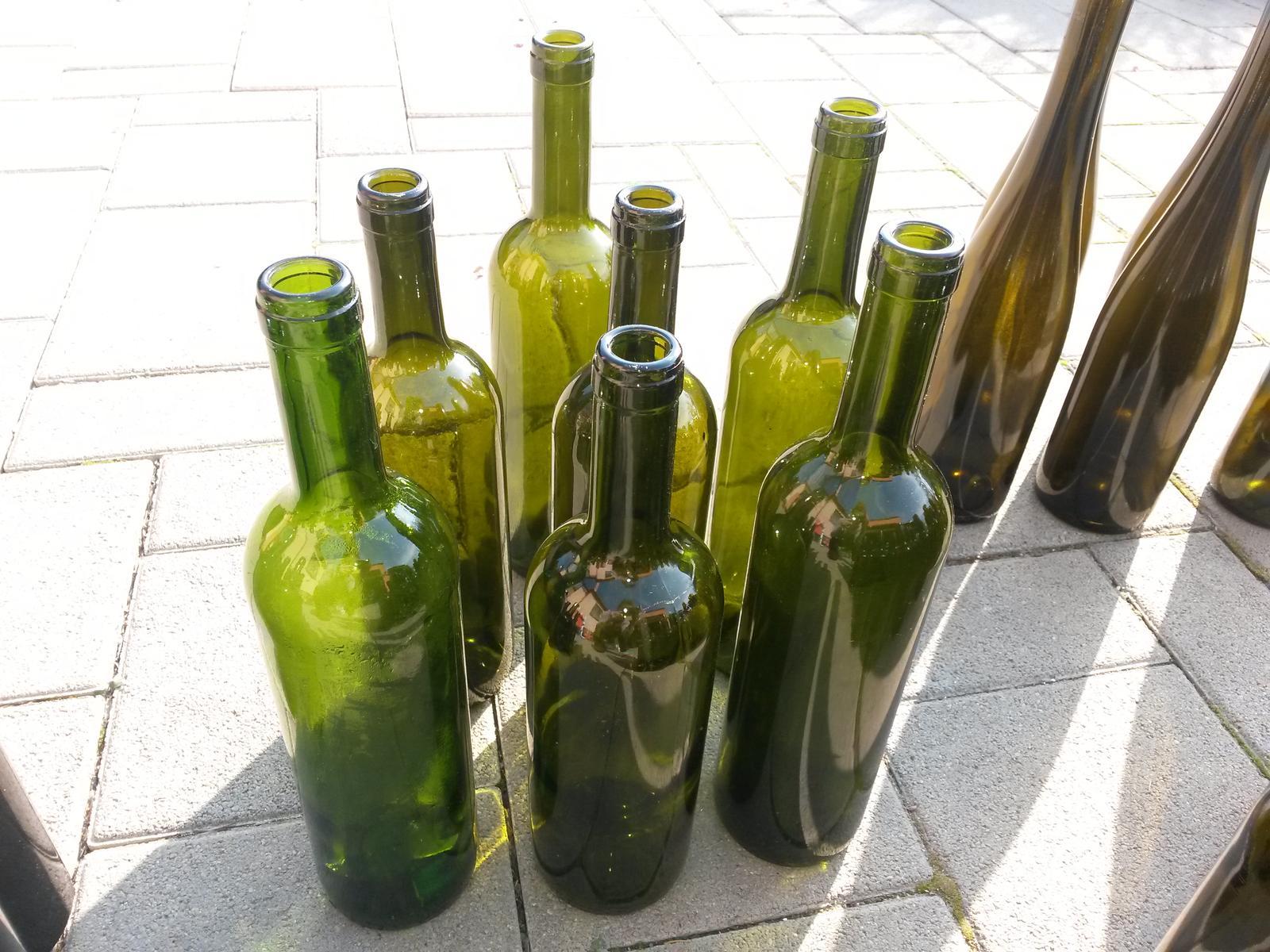 Fľaše sklenené - Obrázok č. 4
