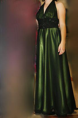 Dlhé elegantné spoločenské šaty - Obrázok č. 4