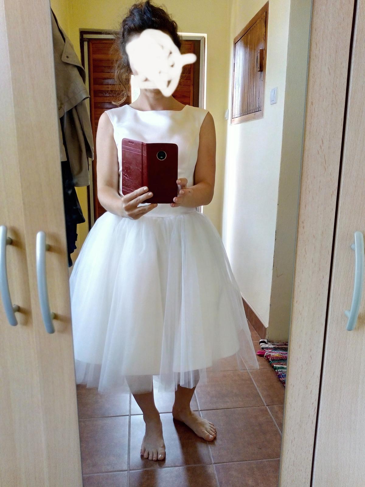 Šaty v štýle Audrey Hepburn  - Obrázok č. 1