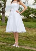 Puntíkaté Retro šaty (34-36), 34