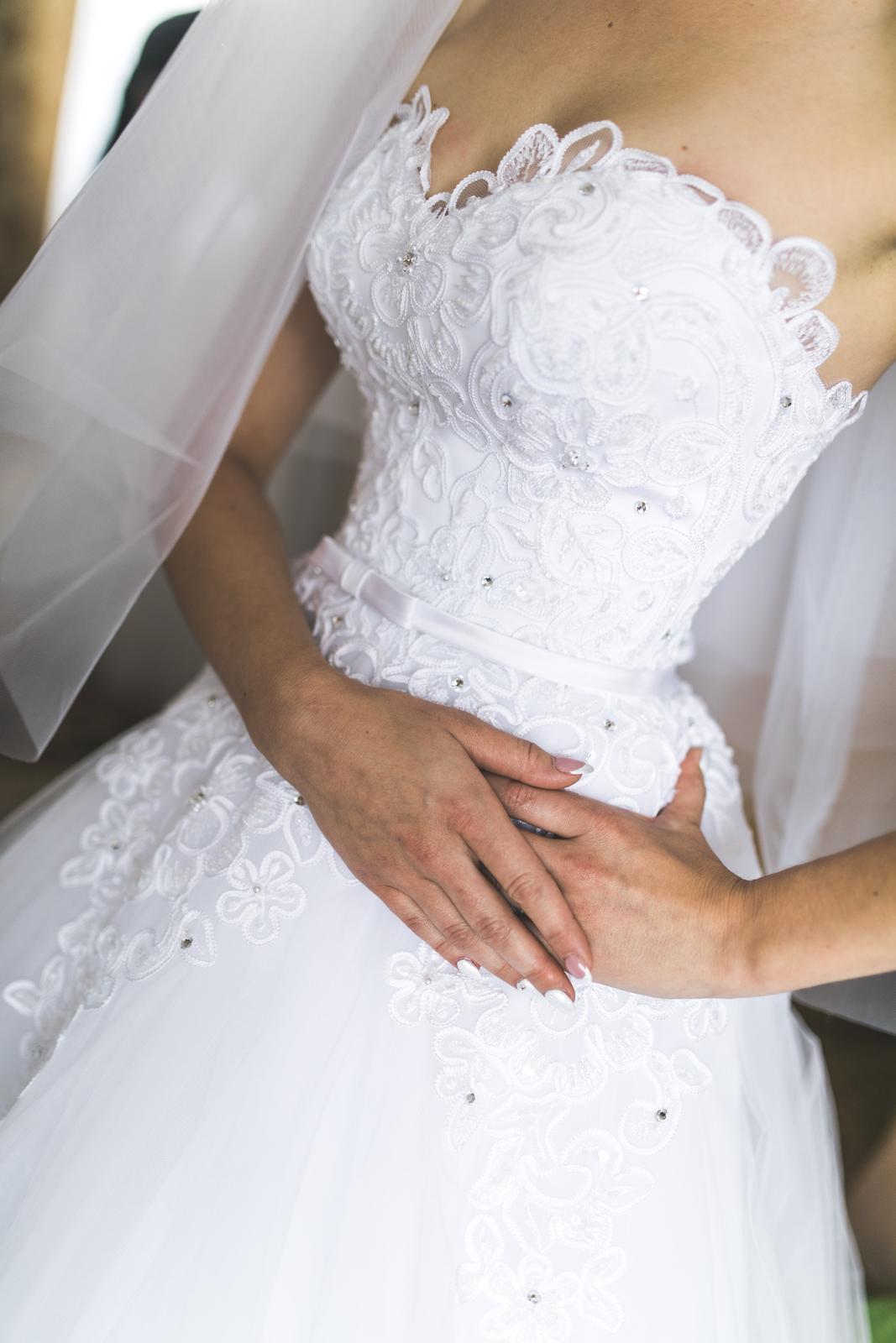 Svadobné šaty 34-36 - Obrázok č. 2