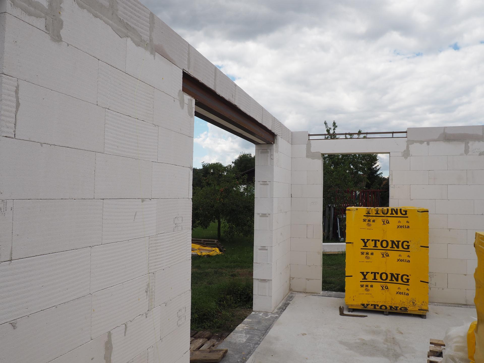 Dům do L - stavba 2020/2021 - Obrázek č. 27