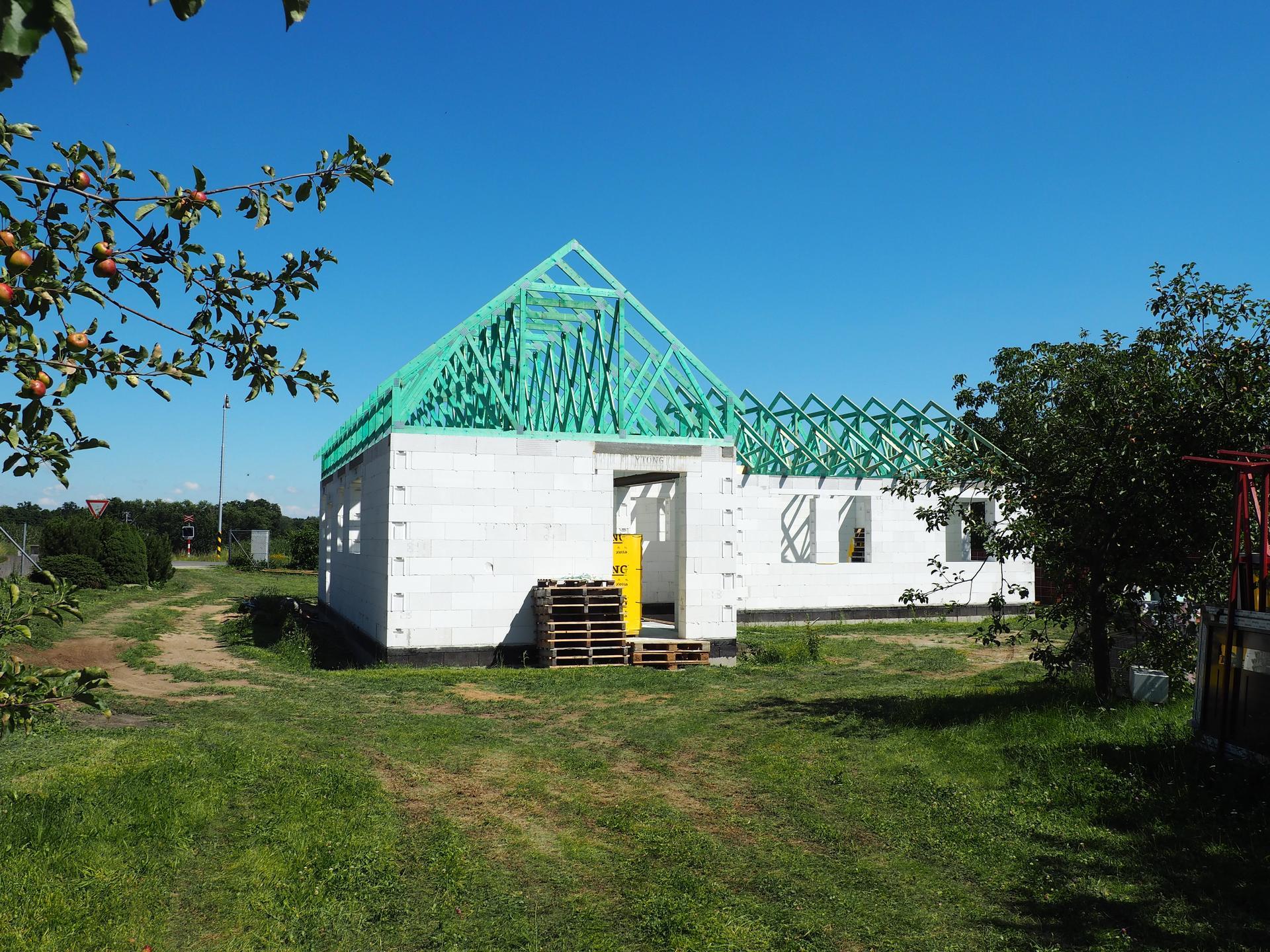Dům do L - stavba 2020/2021 - Obrázek č. 34