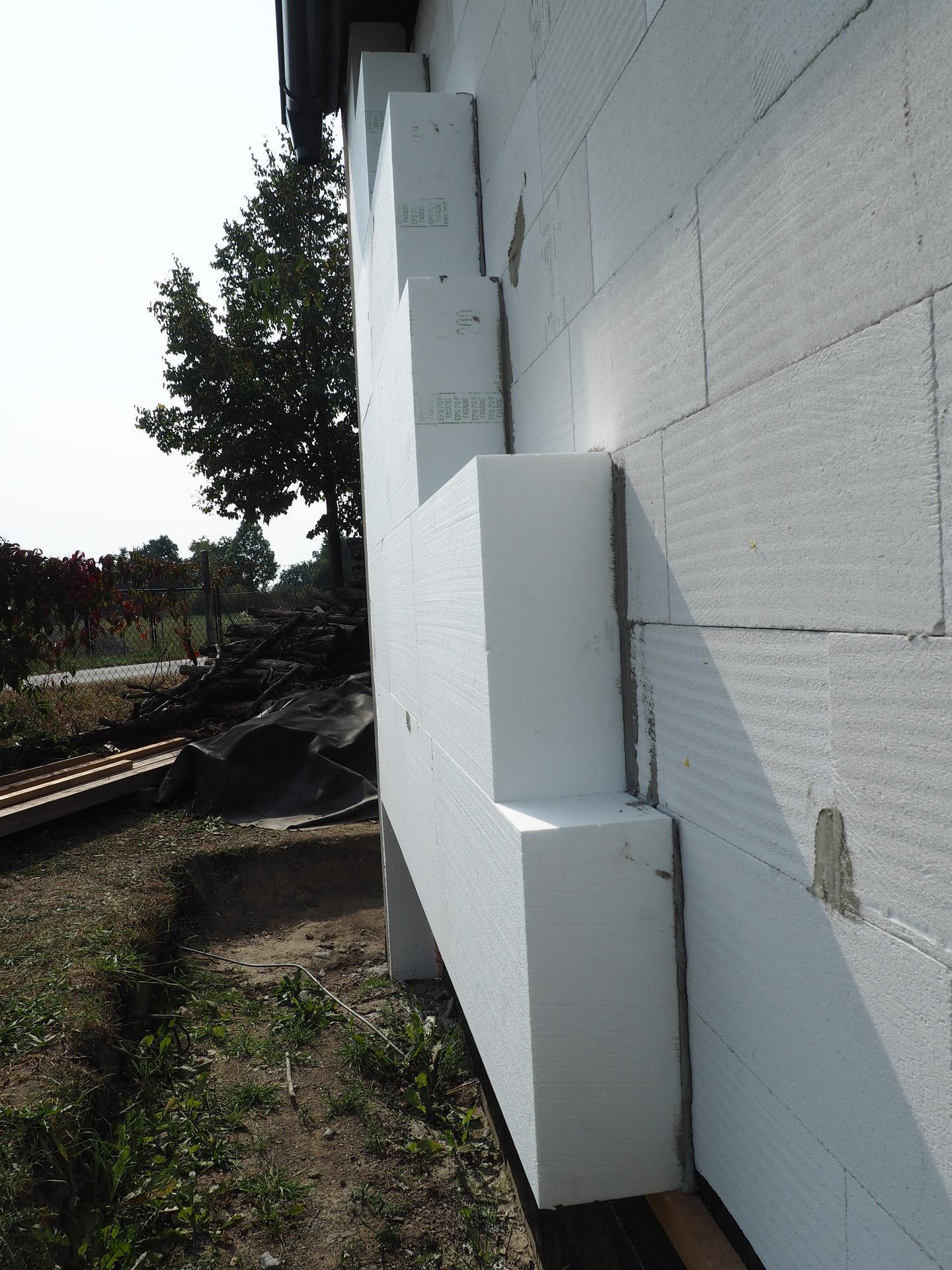 Dům do L - stavba 2020/2021 - Detail