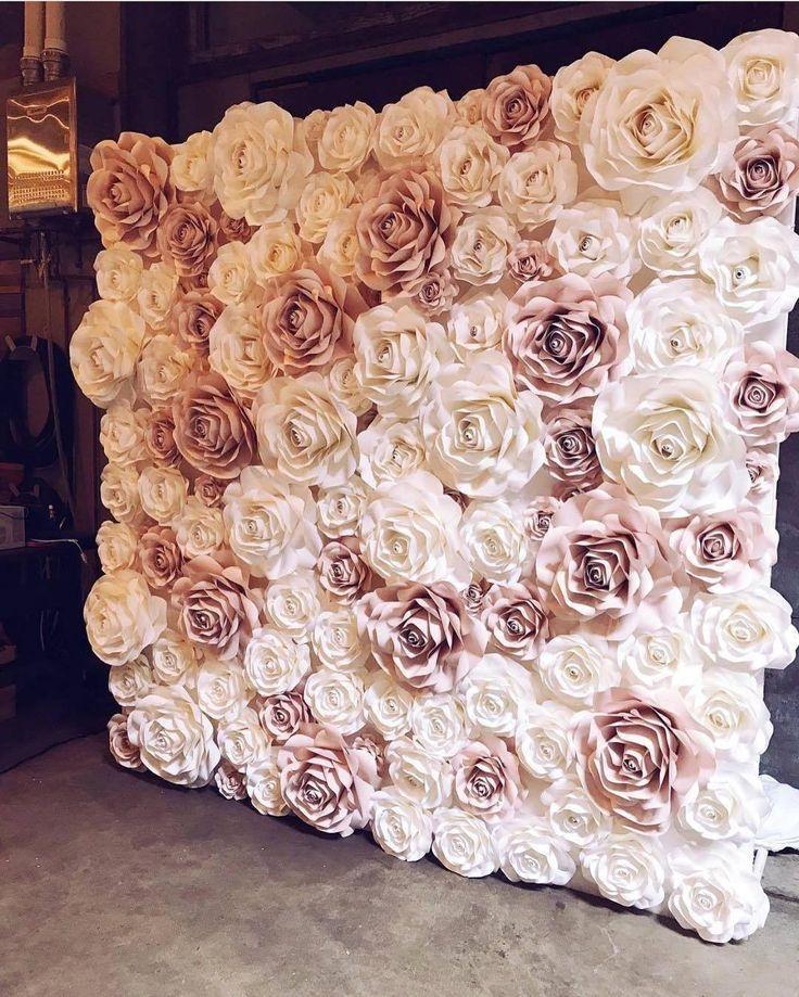 Moje predstavy :) - Kvetinová stena, nádherný doplnok svadby :) a pri kvetinovej stene bude z boku rebrík z predchádzajúcej fotky