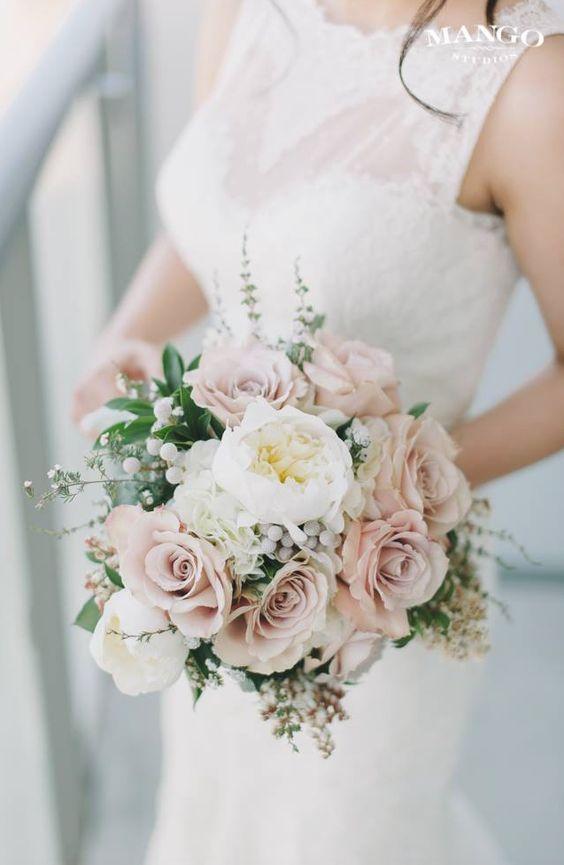 Moje predstavy :) - svadobná kytička