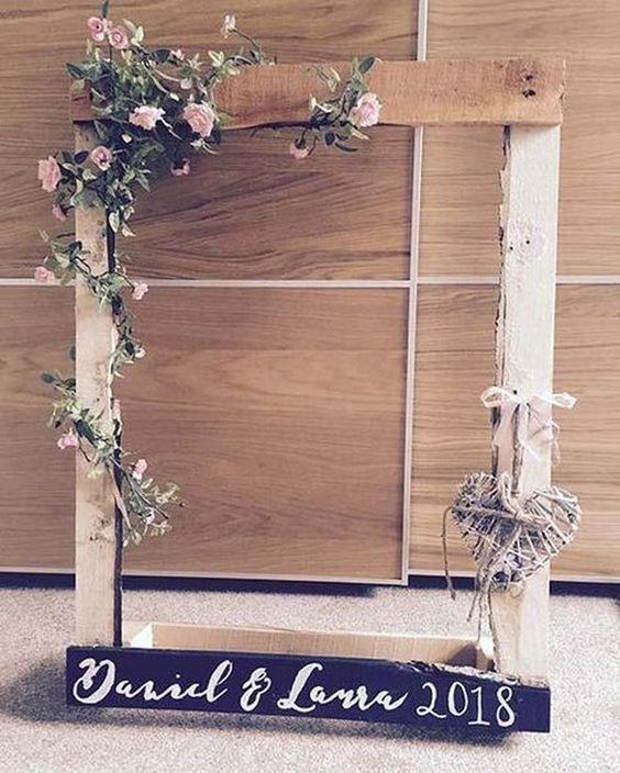 Moje predstavy :) - do foto kútika :) užasne sa bude hodiť ku kvetinovej stene