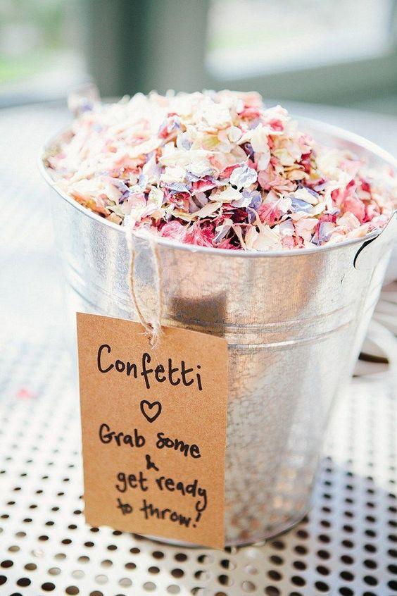 Moje predstavy :) - konfety na candy bar :)