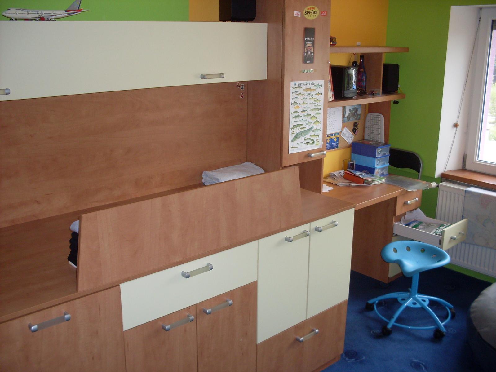 nábytok detská/študentská izba - Obrázok č. 1