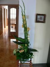 květinová výzdoba, úžasná