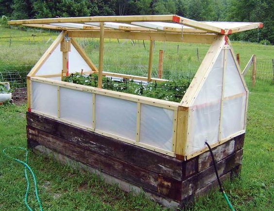 Zahrada - inspirace - upgrade na vyvýšeném záhoně :-)