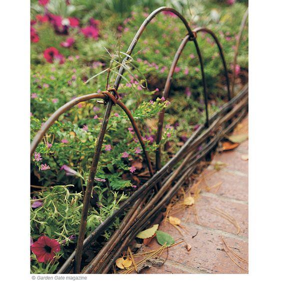 Zahrada - inspirace - moc hezké, sice proti kočkám a psovi neúčinné, ale i tak je to pěkné :-)