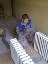 začali sme radiátormi