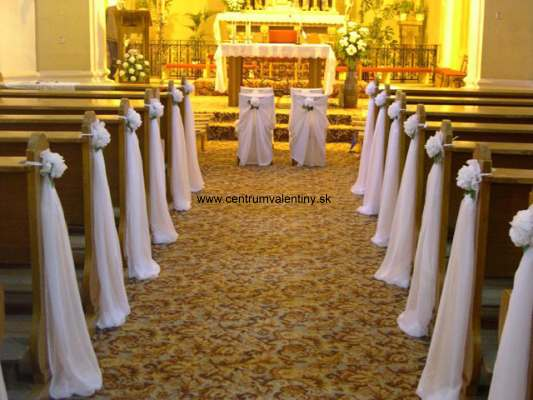 ...moje predstavy... - ..takato vyzdoba kostolika..