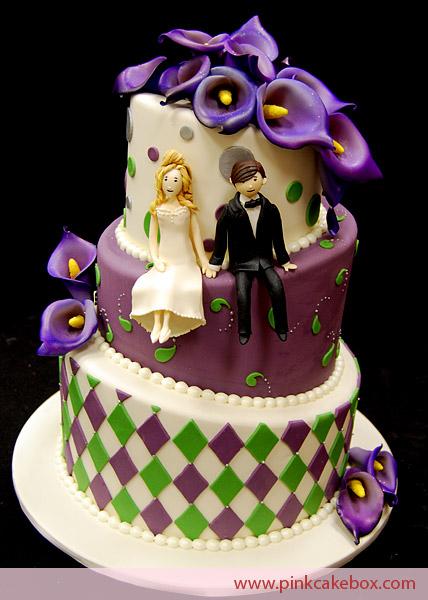 Svatební inspirace - líbí se mi ty dorty, co vypadají, že je někdo narychlo zplácal :D