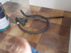 podlahy v technické a předsíni