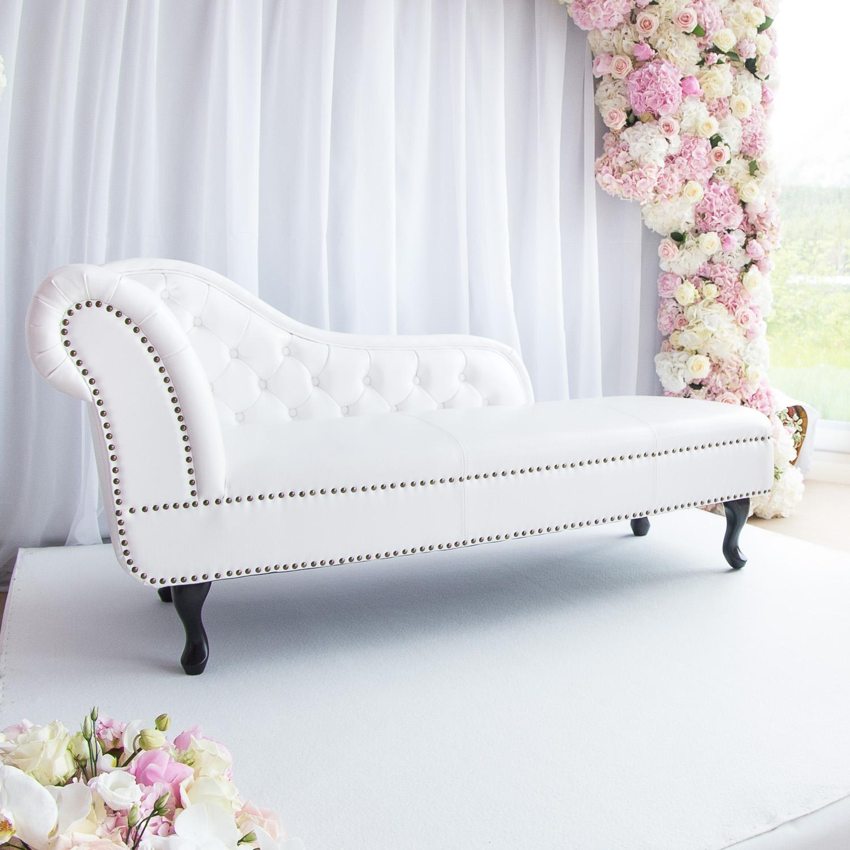 Biela chesterfield sofa na prenájom - Obrázok č. 2
