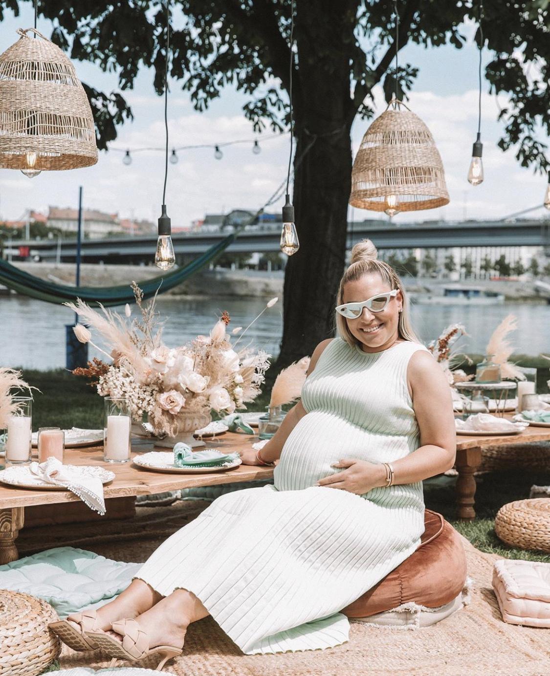 Baby shower v boho štýle pre Dominiku Cibulkovú - Obrázok č. 2
