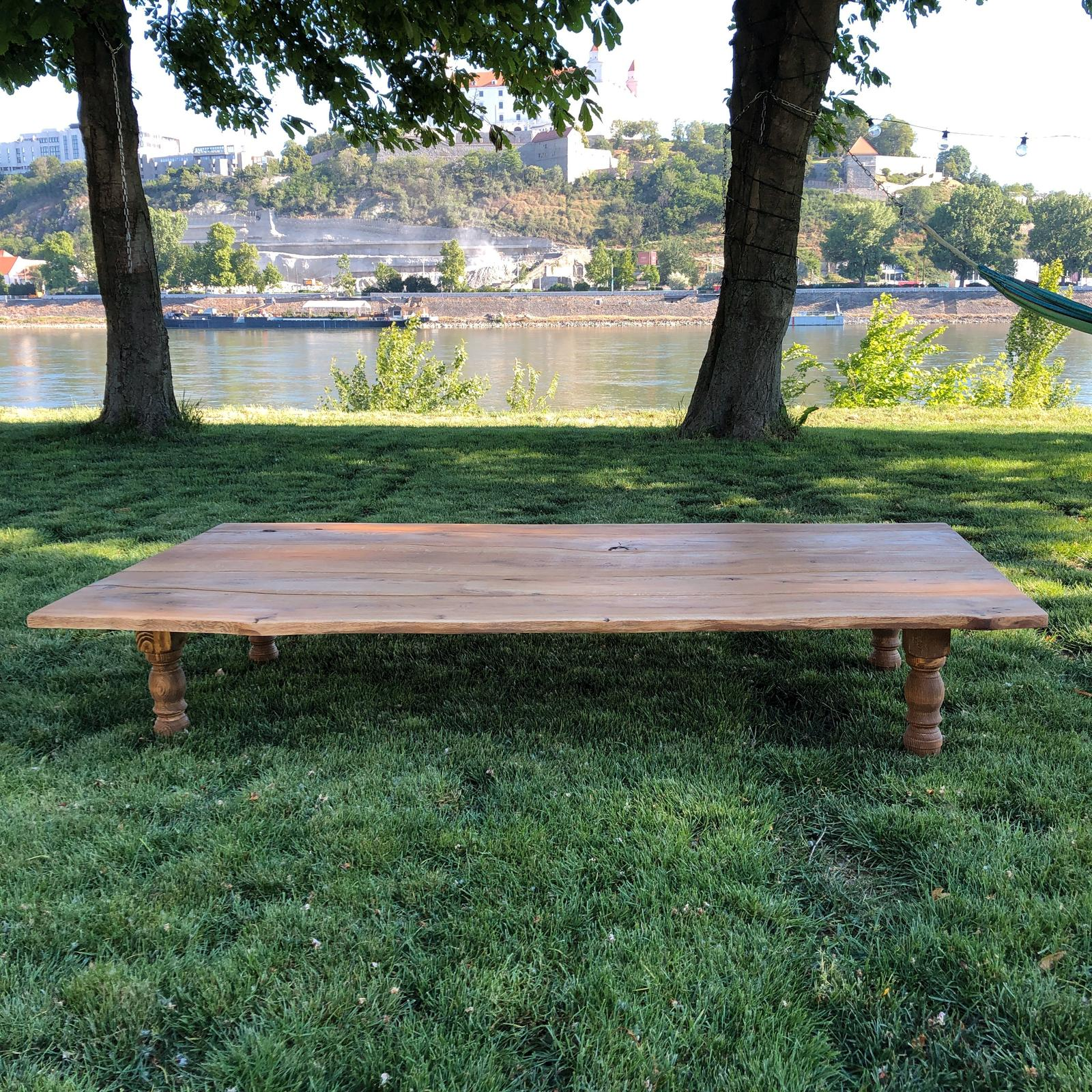 Novinka v našej ponuke - boho stoly na prenájom :-) - Obrázok č. 2