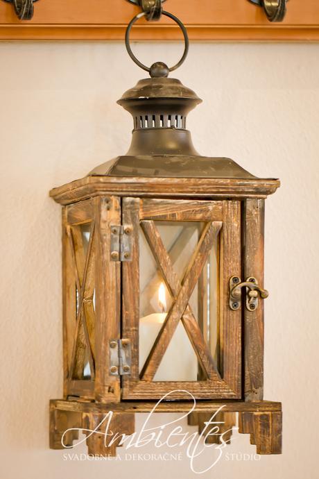Drevené lampáše na prenájom - Obrázok č. 1