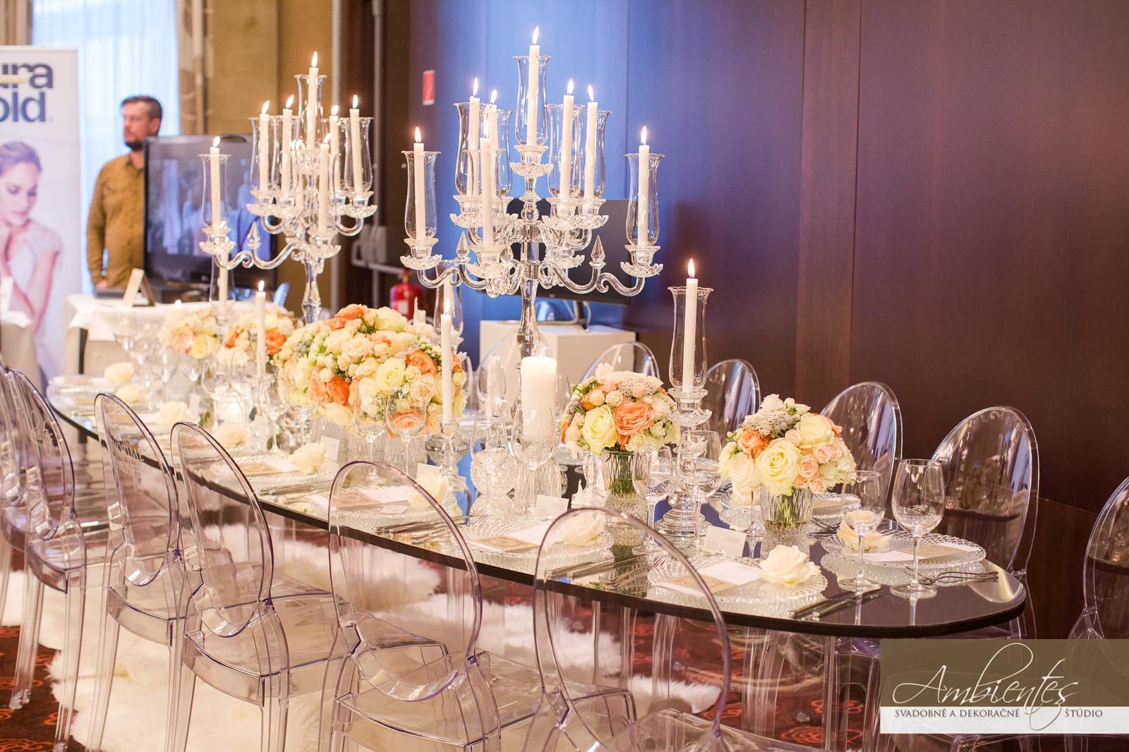 Elipsové stoly so zrkadlom - Obrázok č. 2