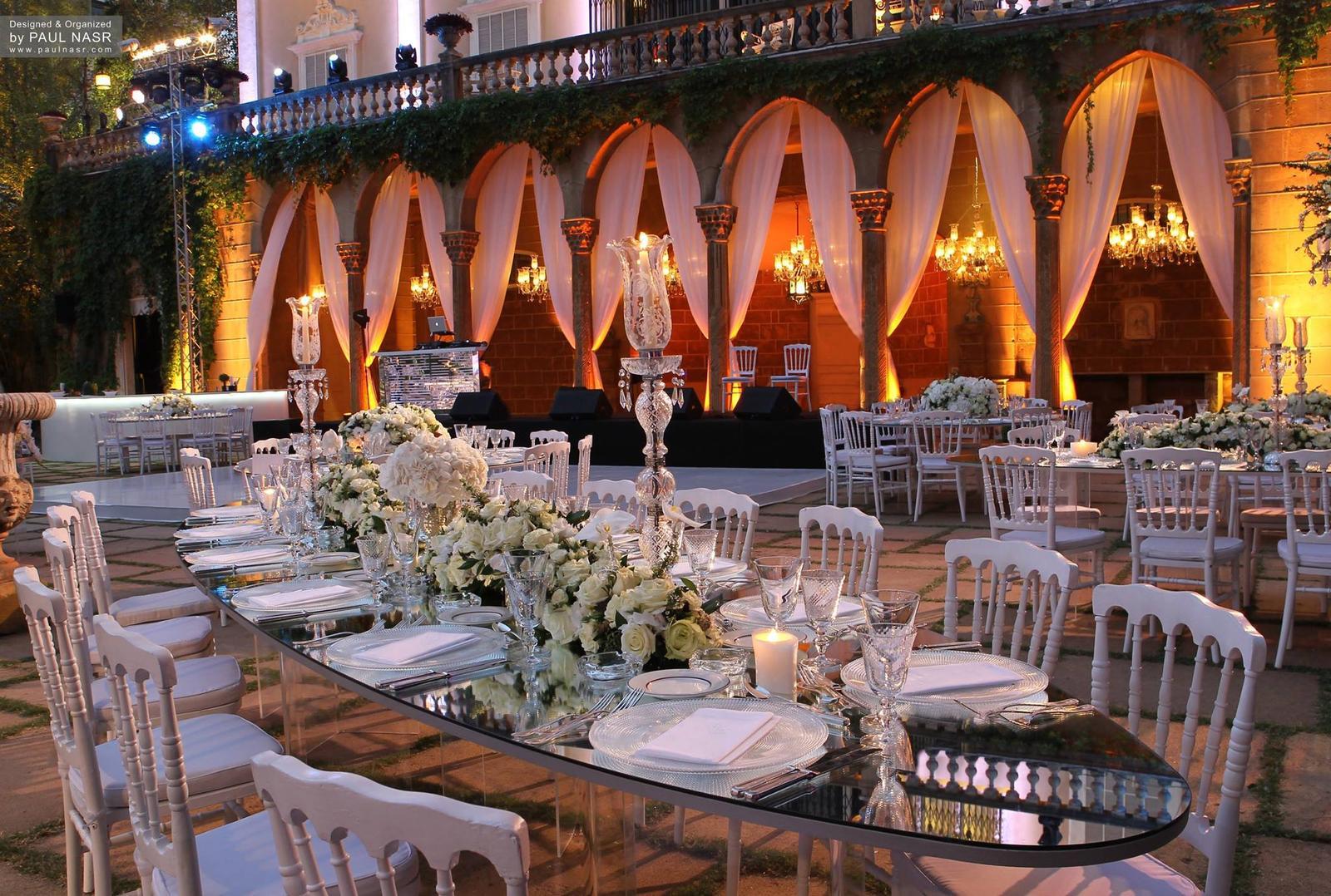 Elipsové stoly so zrkadlom - Obrázok č. 3