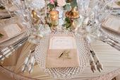 Luxusné krištáľové klubové taniere (prenájom),