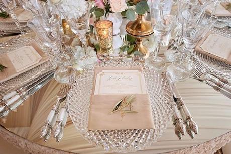 Luxusné krištáľové klubové taniere (prenájom) - Obrázok č. 1