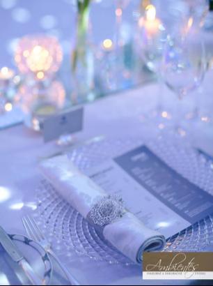 Luxusné krištáľové klubové taniere (prenájom) - Obrázok č. 2