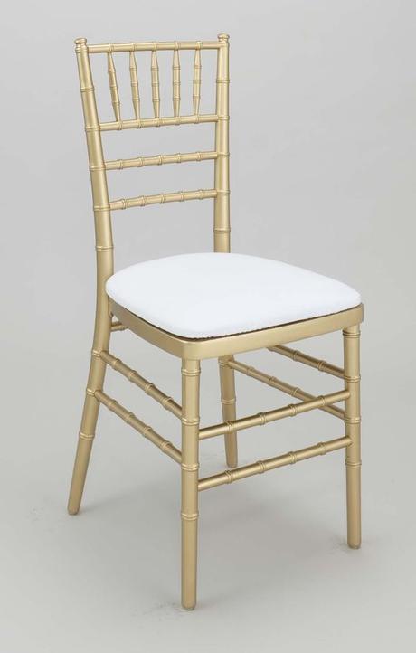 Prenájom zlatých chiavari stoličiek - Obrázok č. 1
