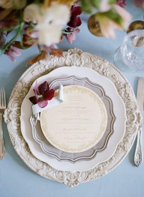 Drevene klubové taniere antique (prenájom) - Obrázok č. 2